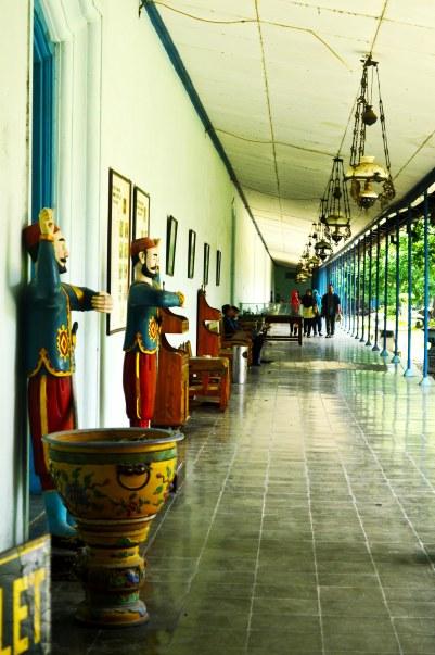 Koridor Dalam Kraton Surakarta